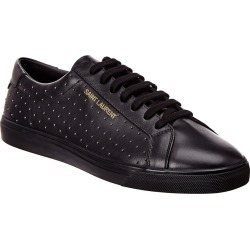 Saint Laurent Andy Studded Leather Sneaker found on Bargain Bro India from Gilt City for $439.99