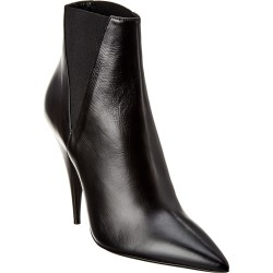 Saint Laurent Kiki 110 Leather Bootie found on Bargain Bro Philippines from Ruelala for $759.99