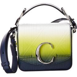 Chloe C Mini Ombre Leather Shoulder Bag