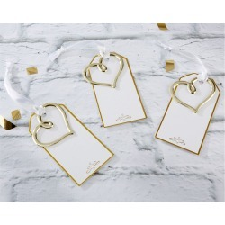 Kate Aspen Set of 12 Heart Escort Cards