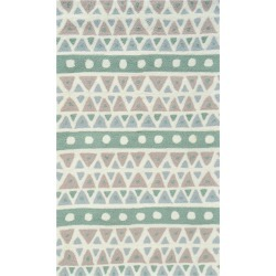 The Rug Market Sienna Hand-Made Polyester Contemporary Rug