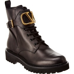 Valentino VLogo Combat 35 Leather Boot found on Bargain Bro Philippines from Ruelala for $999.99