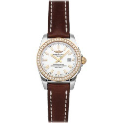 Breitling Women's Leather Diamond Watch found on MODAPINS from Ruelala for USD $4499.00
