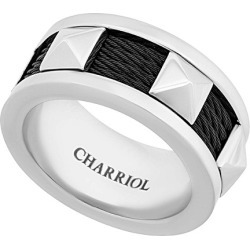 Charriol Forever Stainless Steel Ring found on Bargain Bro India from Gilt for $69.99