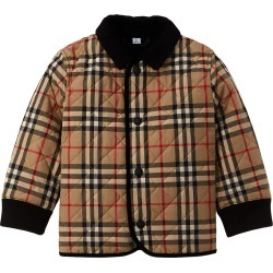 Burberry Corduroy Trim Vintage Check Diamond Quilted Jacket found on Bargain Bro India from Ruelala for $219.99
