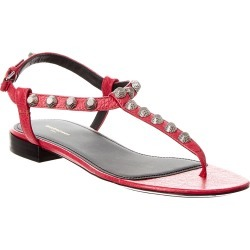 Balenciaga Giant Studded Leather T-Strap Sandal found on Bargain Bro Philippines from Ruelala for $279.99