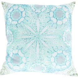Surya Rain Woven Indoor/Outdoor Pillow found on Bargain Bro India from Gilt for $50.00