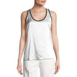 Givenchy Scoop Neck Silk Top found on Bargain Bro from Gilt City for USD $129.19