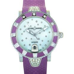 Ulysse Nardin Women's Rubber Watch found on MODAPINS from Ruelala for USD $5995.00