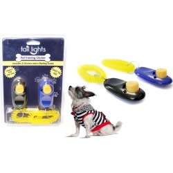 Tail Lights Two Pack Pet Training Clickers & Comprehensive Training Guide 2
