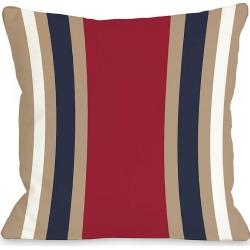 "One Bella Casa ""Americus Stripe"" Decorative Pillow"