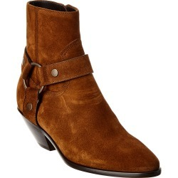 Saint Laurent West 45 Suede Bootie found on Bargain Bro India from Ruelala for $799.99
