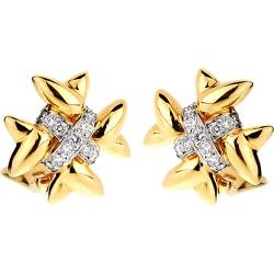 Tiffany & Co. 18K Platinum 0.65 ct. tw. Diamond Earrings