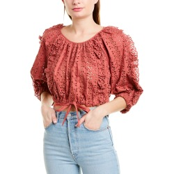 Rebecca Taylor Karina Ruffle Top found on Bargain Bro India from Gilt for $70.00