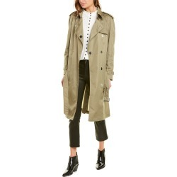 Burberry Press Stud Detail ECONYL Trench Coat found on Bargain Bro India from Gilt for $849.99