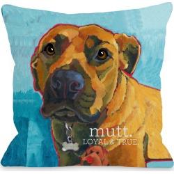 One Bella Casa Mutt Pillow