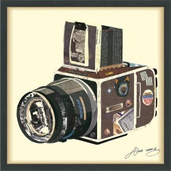 Empire Art Direct SLR Camera Framed Artwork by Alex Zeng