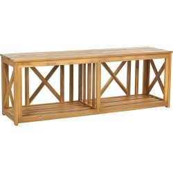 Safavieh Branco Bench found on Bargain Bro India from Gilt for $219.99