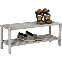 Honey-Can-Do 2-Tier Shoe Rack