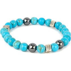 Dell Arte Silver Gemstone Stretch Bracelet found on Bargain Bro Philippines from Ruelala for $28.99