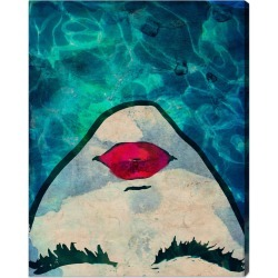 Water coveted Canvas Art by The Oliver Gal Artist Co.