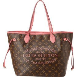 Louis Vuitton Pink Ikat Flower Vernis Leather Neverfull MM found on Bargain Bro Philippines from Gilt for $2300.00