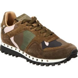 Valentino Camouflage Rockrunner Leather Sneaker found on Bargain Bro India from Gilt for $449.99