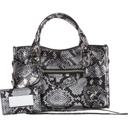 Balenciaga Classic City Mini Snake-Embossed Leather Shoulder Bag found on Bargain Bro Philippines from Gilt for $1479.99