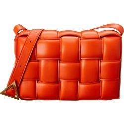 Bottega Veneta Double Face Maxi Weave Leather Shoulder Bag