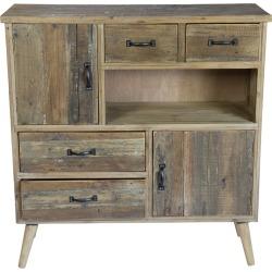 VIP International Wood Cabinet