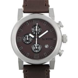 Nixon Men's Leather Watch