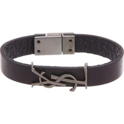 Saint Laurent Opyum Leather Bracelet found on Bargain Bro India from Ruelala for $289.99