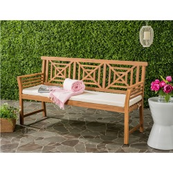 Safavieh Del Mar 3 Seat Bench found on Bargain Bro India from Gilt City for $299.99
