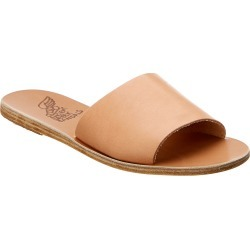 Ancient Greek Sandals Taygete Suede Slide found on MODAPINS from Gilt for USD $75.99