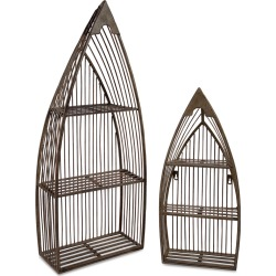 Imax Worldwide Home Set of 2 Nesting Boat Shelves