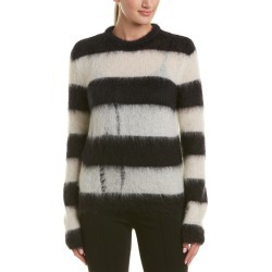Saint Laurent Fuzzy Mohair-Blend Sweater found on Bargain Bro Philippines from Gilt for $449.99