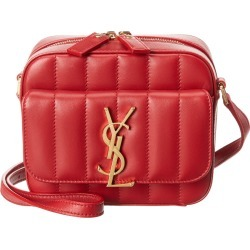 Saint Laurent Toy Vicky Matelasse Leather Camera Bag