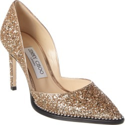Jimmy Choo Babette 85 Glitter Pump found on MODAPINS from Gilt City for USD $449.99