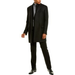 Corneliani Wool & Cashmere-Blend Top Coat found on MODAPINS from Ruelala for USD $434.99