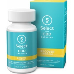 Select CBD 0.95oz CBD Oil Capsules 1000MG, 30ct - Recover found on Bargain Bro India from Gilt City for $59.99