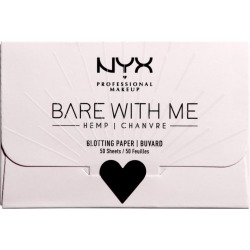 Bare With Me Cannabis Sativa Seed Oil Blotting Paper found on MODAPINS from Beauty Boutique CA for USD $5.92