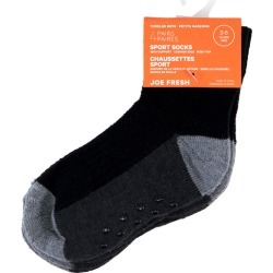 Joe Fresh Toddlers Boys Socks 3-5 Years 3.0 Pair found on Bargain Bro from Beauty Boutique CA for USD $5.00