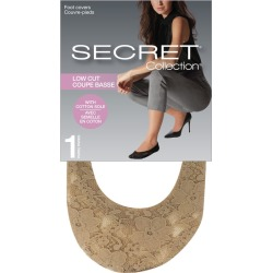Secret Collection Low Cut Foot Covers 1.0 Pair NUDE found on Bargain Bro Philippines from Beauty Boutique CA for $6.59