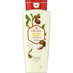 Old Spice Old Spice Body Wash for Men Moisturize with Shea Butter Body Wash Scent Inspired by Nature 473 mL 473.0 ML