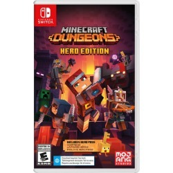 Nintendo Minecraft Dungeon Hero Edition 1.0 ea found on Bargain Bro Philippines from Beauty Boutique CA for $33.00