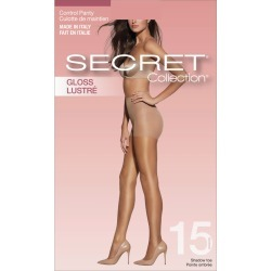 Secret Collection Gloss Leg Pantyhose with Control Panty & Shadow Toe 1.0 Pair BLACK found on Bargain Bro from Beauty Boutique CA for USD $4.99