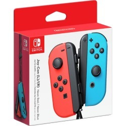 Nintendo Joy-Con L+R Neon Red/Blue 1.0 ea found on Bargain Bro Philippines from Beauty Boutique CA for $82.52