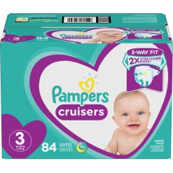 Pampers Pampers Cruisers Diapers Size 3 84 Count 1.0 ea