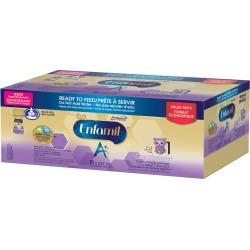 Enfamil Enfamil A+ Gentlease Baby Formula Ready to Feed- Nipple-Ready Bottles 18 pack 237.0 CS