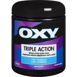 Oxy Triple Action Medicated Acne Pads - 3 in 1 90.0 Pads